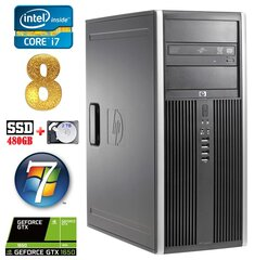 HP 8100 Elite MT i7-860 8GB 480SSD+2TB GTX1650 4GB DVD WIN7Pro hind ja info | HP 8100 Elite MT i7-860 8GB 480SSD+2TB GTX1650 4GB DVD WIN7Pro | kaup24.ee