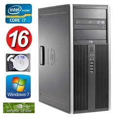 HP 8100 Elite MT i7-860 16GB 1TB GT1030 2GB DVD WIN7Pro hind ja info | HP 8100 Elite MT i7-860 16GB 1TB GT1030 2GB DVD WIN7Pro | kaup24.ee