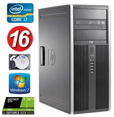 HP 8100 Elite MT i7-860 16GB 1TB GTX1650 4GB DVD WIN7Pro hind ja info | HP 8100 Elite MT i7-860 16GB 1TB GTX1650 4GB DVD WIN7Pro | kaup24.ee