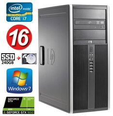 HP 8100 Elite MT i7-860 16GB 240SSD+2TB GTX1650 4GB DVD WIN7Pro hind ja info | HP 8100 Elite MT i7-860 16GB 240SSD+2TB GTX1650 4GB DVD WIN7Pro | kaup24.ee