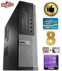 DELL 790 DT i5-2500 8GB 480SSD+1TB DVDRW WIN10Pro hind ja info | DELL 790 DT i5-2500 8GB 480SSD+1TB DVDRW WIN10Pro | kaup24.ee