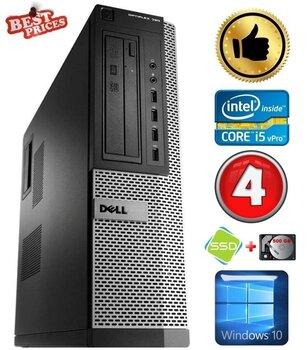 DELL 790 DT i5-2500 4GB 120SSD+500GB DVDRW WIN10 hind ja info | Lauaarvutid | kaup24.ee