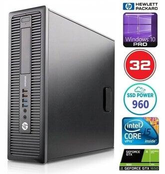 HP 600 G1 SFF i5-4570 32GB 960SSD GTX1650 4GB WIN10Pro hind ja info | Lauaarvutid | kaup24.ee
