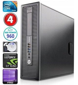HP 600 G1 SFF i5-4570 4GB 960SSD+2TB GT1030 2GB WIN10Pro цена и информация | Персональные компьютеры | kaup24.ee