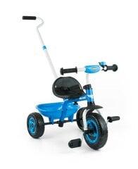 Lükatav kolmerattaline Milly Mally Turbo, sinine