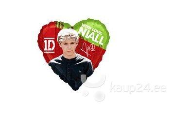 Õhupall One direction Niall, 45 cm цена и информация | Peolaua kaunistused, dekoratsioonid | kaup24.ee