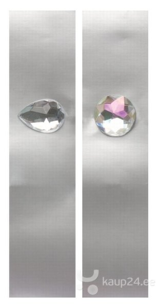 Salvrätikud kaunistatud teemantitega, 8 tk. цена и информация | Peolaua kaunistused, dekoratsioonid | kaup24.ee