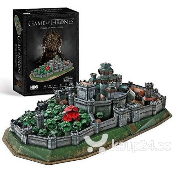 3D pusle CubicFun Game of Thrones Winterfell 430 o. hind
