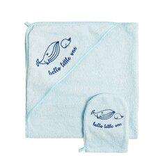 Cool Club rätik koos kapuutsiga ja käsn poistele, 80x80 cm, CTB1805698-00-S20 hind ja info | Vannitooted | kaup24.ee