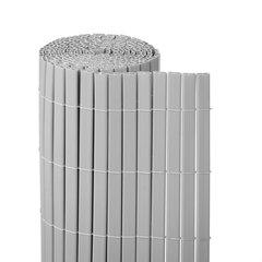 Rõdu/terrassi päikesekaitse - vari Plast PVC, helehall hind ja info | Päikesevarjud, markiisid ja alused | kaup24.ee
