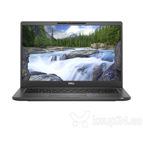 Dell Latitude 7300, FHD, i5-8265U, 8GB, 256GB, W10, Black