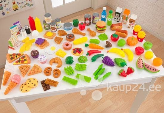 Комплект продуктов Kidkraft Deluxe Tasty Treat Pretend Play Food Set 63330