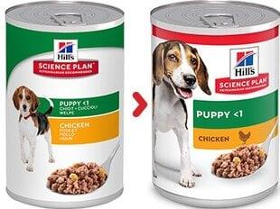Kuivtoit koertele Hill's Sience Plan Puppy kanalihaga, 370 g hind ja info | Konservid koertele | kaup24.ee