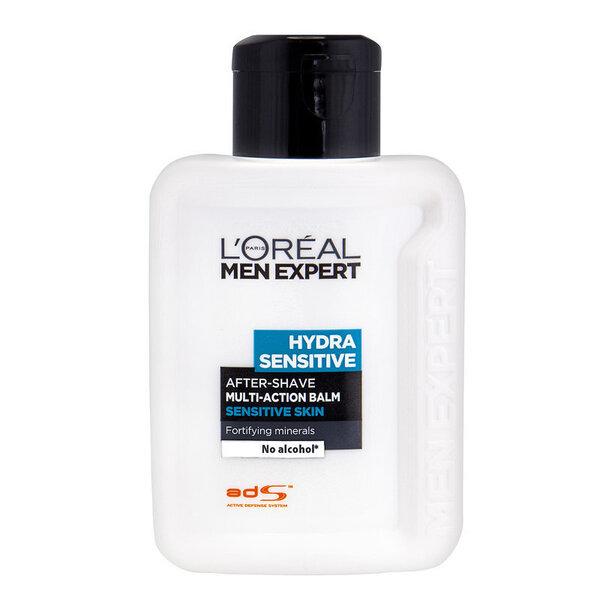 Habemeajamisjärgne palsam tundlikule nahale L'Oreal Paris Men Expert Hydra Sensitive 100 ml hind ja info | Raseerimisvahendid | kaup24.ee