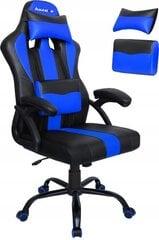 Mängutool Huzaro Hz-Force 3.0, must/sinine hind ja info | Kontoritoolid | kaup24.ee