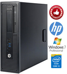 HP ProDesk 400 G1 i5-4570 4GB 250GB Windows 7 Professional hind ja info | HP ProDesk 400 G1 i5-4570 4GB 250GB Windows 7 Professional | kaup24.ee
