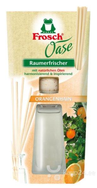 Õhuvärskendaja,värske apelsiniaroom, Frosch, 90ml цена и информация | Õhuvärskendajad | kaup24.ee