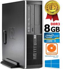 HP Compaq Elite 8100 Intel® Core™ i5-650 8GB 320GB HDD Windows 10 hind ja info | HP Compaq Elite 8100 Intel® Core™ i5-650 8GB 320GB HDD Windows 10 | kaup24.ee