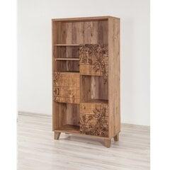 Eraldiseisev riiul Kalune Design Marina Flora 1, pruun hind ja info | Riiulid | kaup24.ee