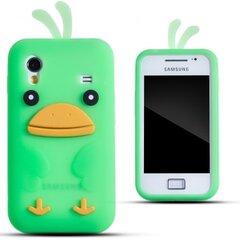 Kaitseümbris Zooky sobib Samsung Galaxy Ace S5830, 3D kana, roheline