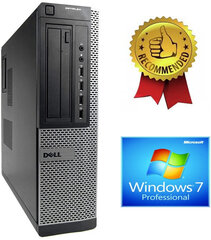 Dell Optiplex DT 790 i5-2400S 8GB 120GB SSD 2TB HDD DVDRW Windows 7 Pro hind ja info | Dell Optiplex DT 790 i5-2400S 8GB 120GB SSD 2TB HDD DVDRW Windows 7 Pro | kaup24.ee