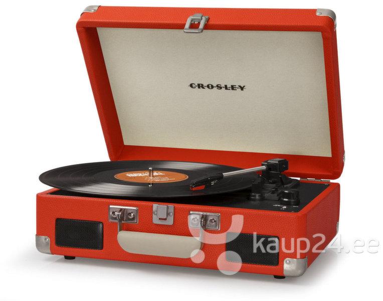 Kaasaskantav grammofon Crosley Cruiser II - punane цена и информация | Vinüülplaadimängijad ja grammofonid | kaup24.ee