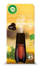 Õhuvärskendaja täide Air Wick Essential Mist, värske sidruni-tüümiani aroom, 20 ml hind ja info | Õhuvärskendajad | kaup24.ee