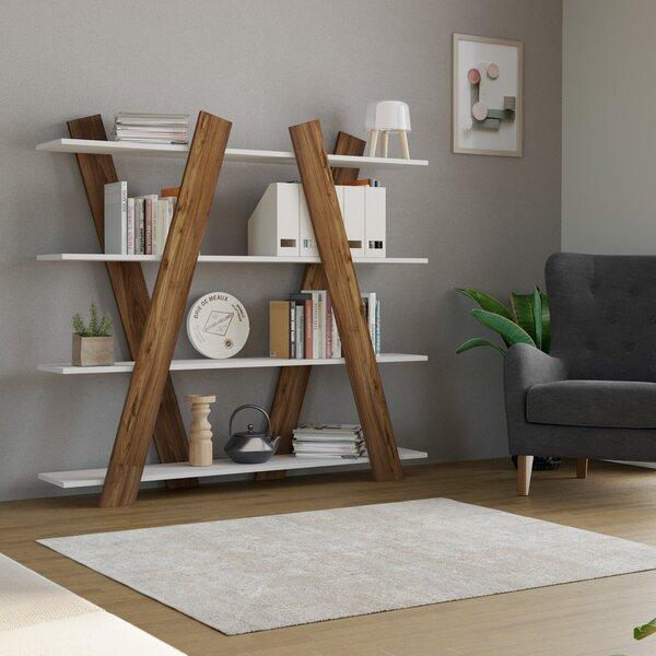 Riiul Kalune Design X1, pruun/valge