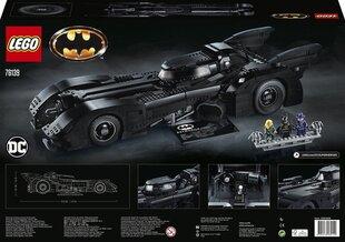 76139 LEGO® DC Comics Super Heroes 1989 Batmobile hind ja info | Kokkupandavad mänguasjad | kaup24.ee