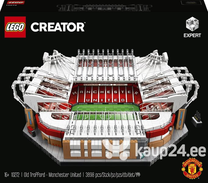 10272 LEGO® Creator Expert Old Trafford -Manchester United stadionas