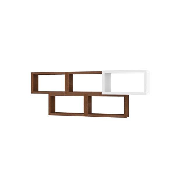 Seinariiul Kalune Design Brick, pruun/valge hind ja info | Riiulid | kaup24.ee