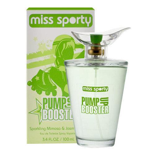 Tualettvesi Miss Sporty Pump Up Booster EDT meestele 100 ml hind ja info | Naiste lõhnad | kaup24.ee