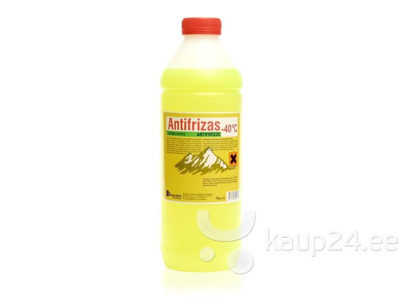 Antifriis kollane – 40°C 1kg цена и информация | Autohooldustooted talveks | kaup24.ee