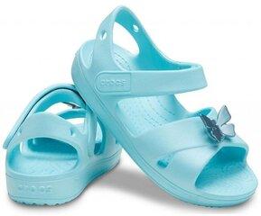 Sandaalid tüdrukutele Crocs™ Classic Cross Strap Sandal PS, jääsinine hind ja info | Sandaalid tüdrukutele Crocs™ Classic Cross Strap Sandal PS, jääsinine | kaup24.ee