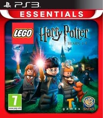 Game Playstation 3 (PS3) Lego Harry Potter Years 1-4 (BOX; DVD; ENG; from 7 years old) hind ja info | Game Playstation 3 (PS3) Lego Harry Potter Years 1-4 (BOX; DVD; ENG; from 7 years old) | kaup24.ee