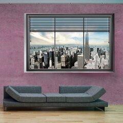 Fototapeet NewYork: aken II, 200x140 cm hind ja info | Fototapeedid | kaup24.ee