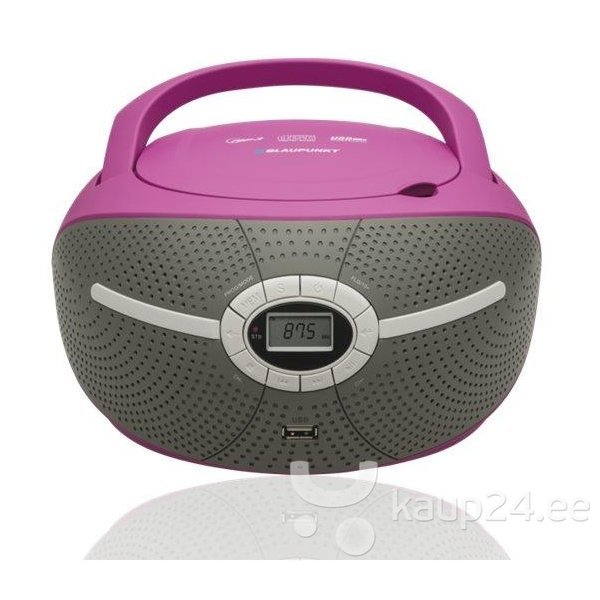 Magnetoola BLAUPUNKT BB6VL BOOMBOX CD/MP3/USB/AUX цена и информация | Magnetoolad | kaup24.ee
