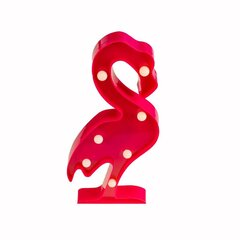 Eco-Light LED lamp Flamingo hind ja info | Laualambid | kaup24.ee