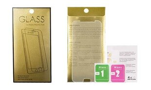 Tempered Glass Gold Screen Protector Samsung Galaxy A21 hind ja info | Ekraani kaitsekiled | kaup24.ee
