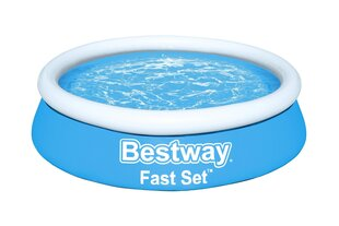 Sammasbassein lastele Bestway Fast Set, 183x51 cm, sinine hind ja info | Sammasbassein lastele Bestway Fast Set, 183x51 cm, sinine | kaup24.ee