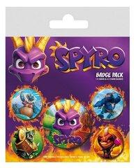 Märgid 5 tk - Spyro, 1x38mm x 4x25mm hind ja info | Mängukonsoolid ja tarvikud | kaup24.ee