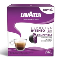 Lavazza Espresso Intenso, 16 капсул для аппаратов Dolce Gusto. цена и информация | Lavazza Espresso Intenso, 16 капсул для аппаратов Dolce Gusto. | kaup24.ee