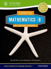 Essential Mathematics For Cambridge Lower Secondary Stage 8 New Edition, Stage 8, Pupil Book цена и информация | Книги на иностранных языках | kaup24.ee