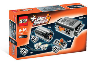 8293 LEGO® Technic Power Functions Motor Set Мощность двигателя