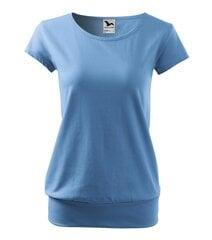 City футболка для женщин sky синий цена и информация | Женская футболка | kaup24.ee