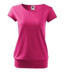 City футболка для женщин magenta цена и информация | Женская футболка | kaup24.ee