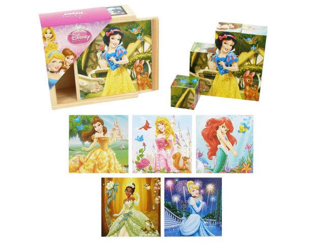 Puidust pusleklotsid, Brimarex, Disney printsess цена и информация | Arendavad mänguasjad 3+ | kaup24.ee