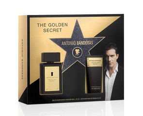 Komplekt Antonio Banderas The Golden Secret: EDT meestele 50 ml + habemeajamisjärgne palsam 100 ml