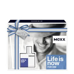 Komplekt Mexx Life is Now For Him: EDT meestele 30 ml + dušigeel 50 ml