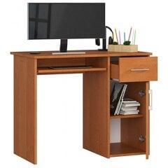 Kirjutuslaud NORE Pin, helepruun hind ja info | Arvutilauad, kirjutuslauad | kaup24.ee